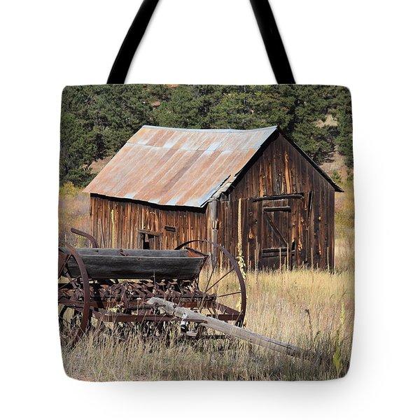 Seed Tiller - Barn Westcliffe Co Tote Bag