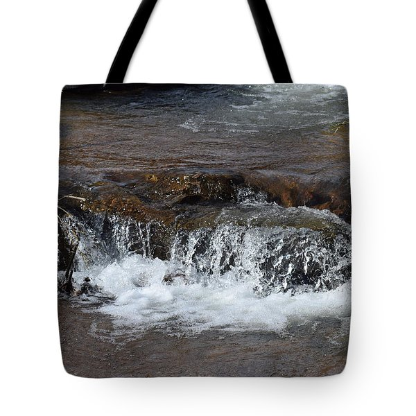 Waterfall Westcliffe Co Tote Bag