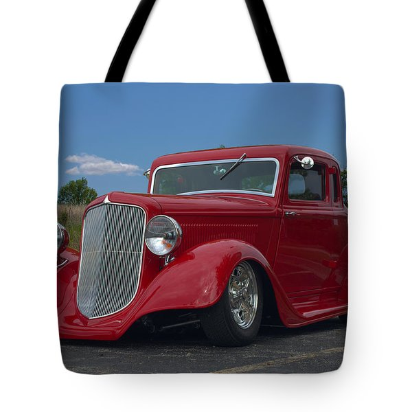 1934 Ford Coupe Hot Rod Tote Bag