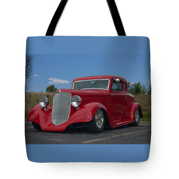 1934 Ford Coupe Hot Rod Tote Bag by Tim McCullough
