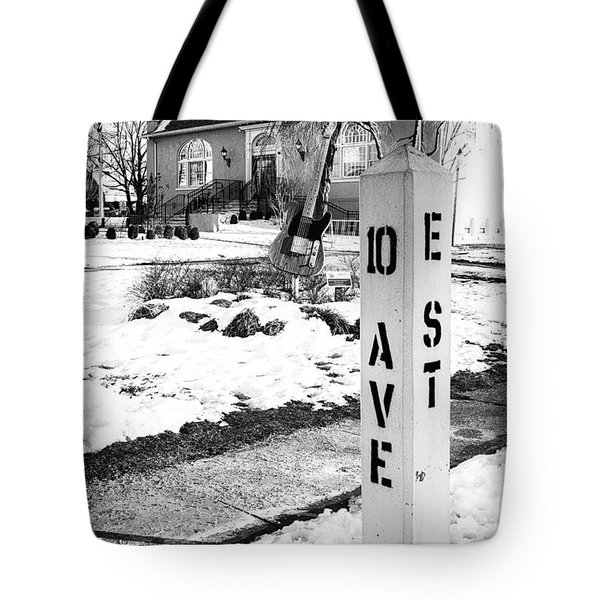 10 Ave And E St Belmar New Jersey Tote Bag
