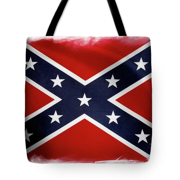 Confederate Flag 10 Tote Bag