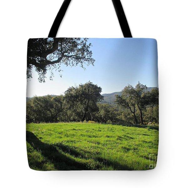 Cork Oaks Tote Bag