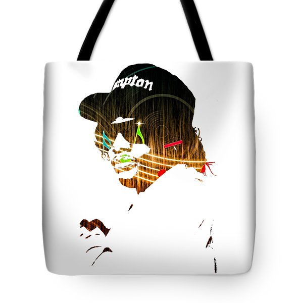 Eazy E Straight Outta Compton Tote Bag