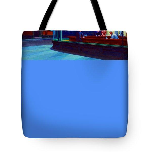 Nighthawks Tote Bag