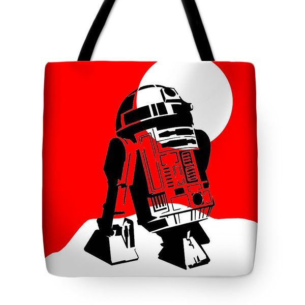 Star Wars R2-d2 Collection Tote Bag by Marvin Blaine