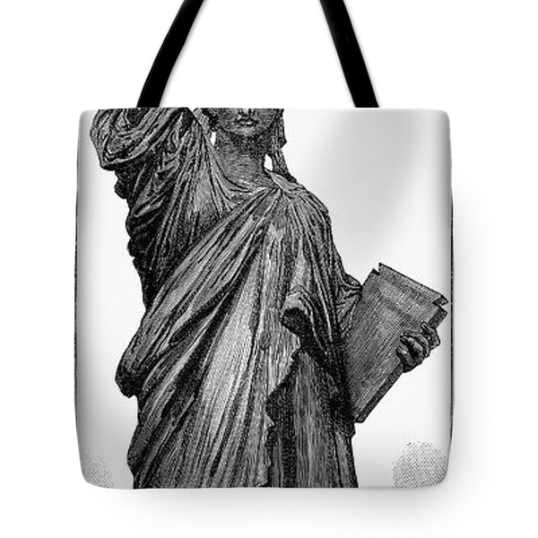 Statue Of Liberty Tote Bag by Granger