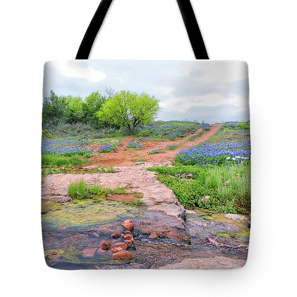 Texas Bluebonnets 9 Tote Bag