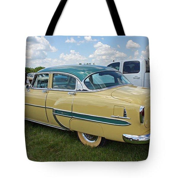 Vintage Car Tote Bag by Ellen Tully