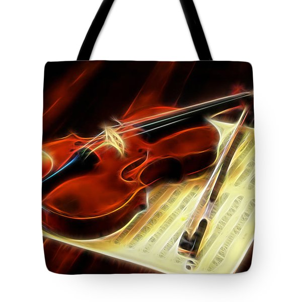 Violin Collection Tote Bag