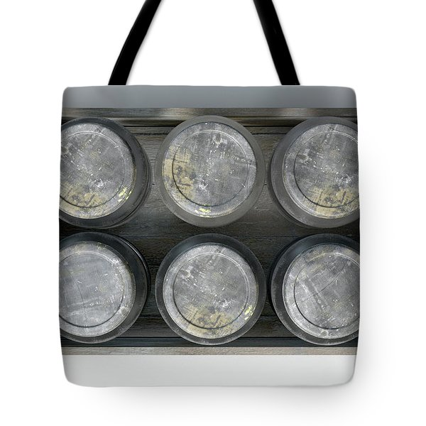 Whiskey Jars In A Crate Tote Bag