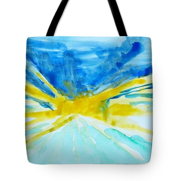 Memory Of A Sunrise Tote Bag