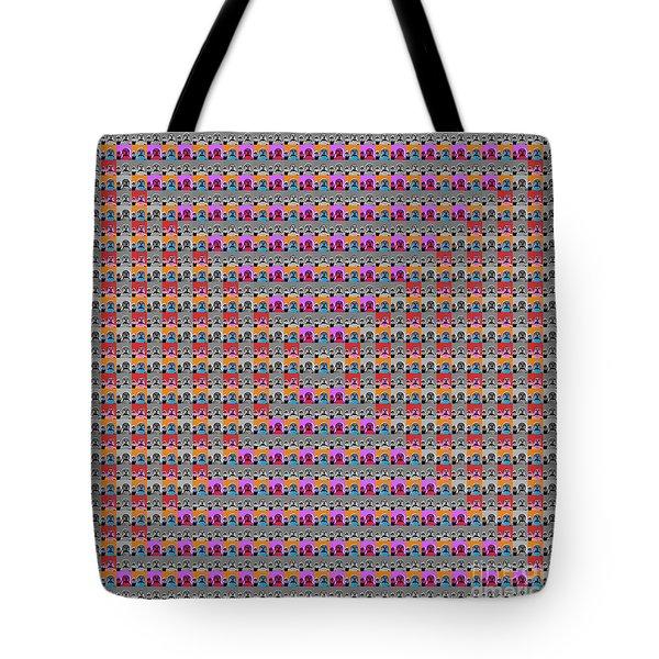 Buddha Pop Art - 2 Tote Bag