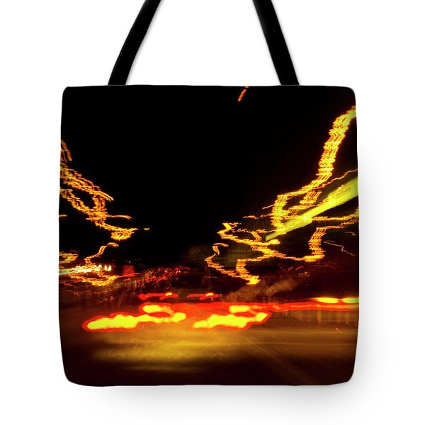 101 Southbound At Night Tote Bag