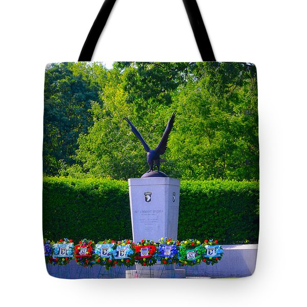 101st Airborne Division Screaming Eagles Tote Bag