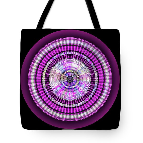 Tote Bag featuring the digital art 102920171 by Visual Artist Frank Bonilla