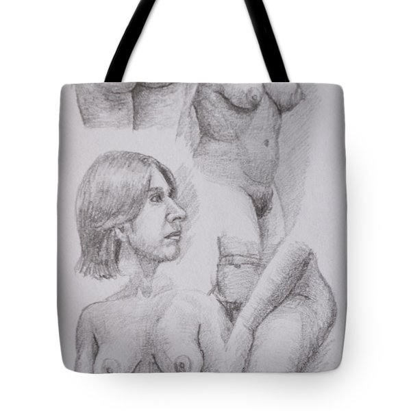 Nude Study Tote Bag