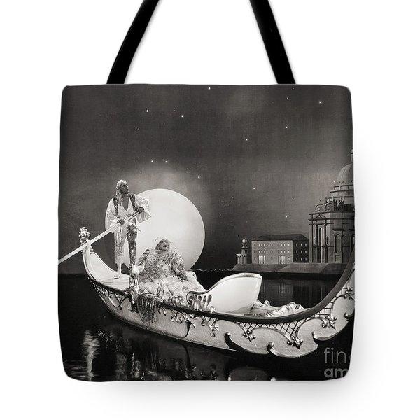 Silent Still: Man & Woman Tote Bag by Granger