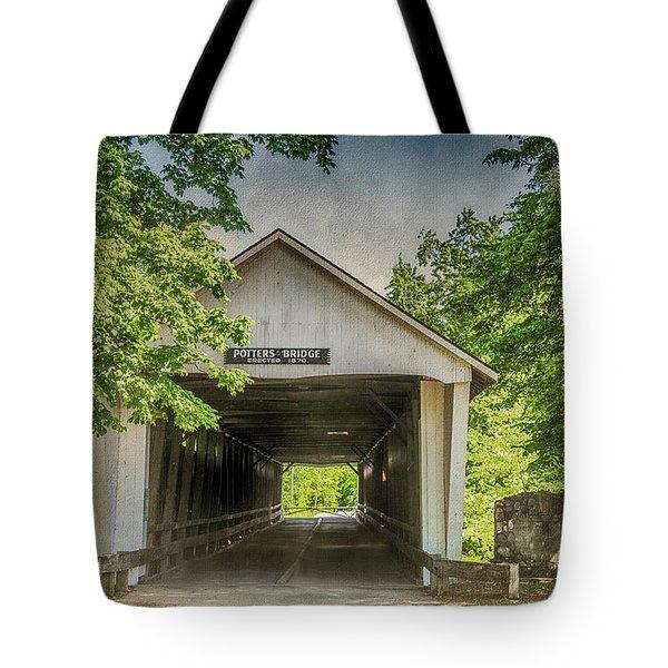 10700 Potter's Bridge Tote Bag