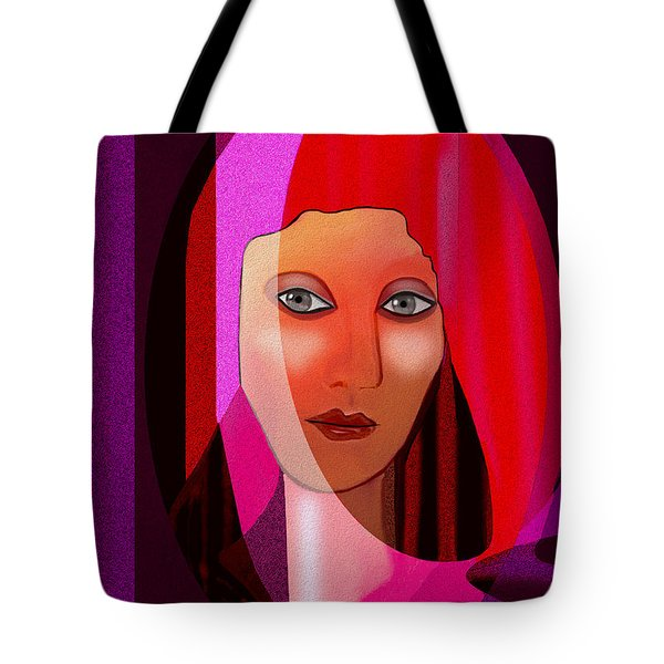 1081 - Pink Veil 2017 Tote Bag by Irmgard Schoendorf Welch