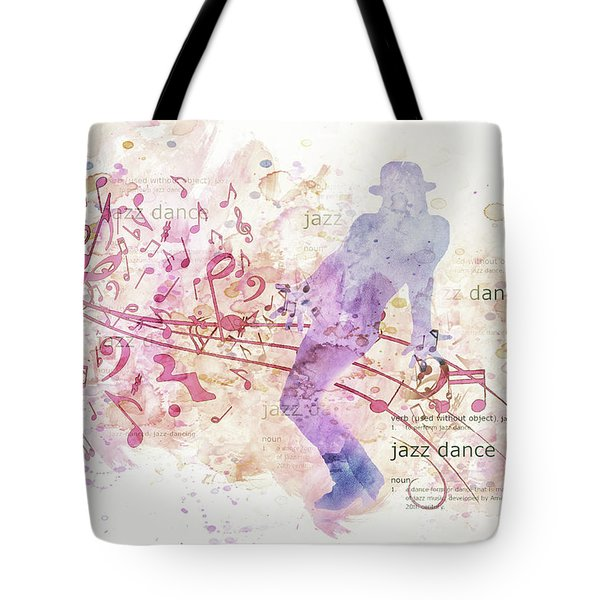 10849 All That Jazz Tote Bag