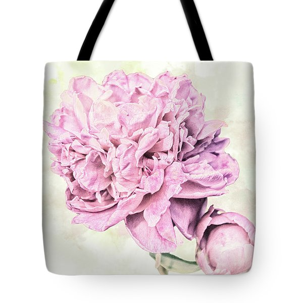 10861 Spring Peony Tote Bag by Pamela Williams