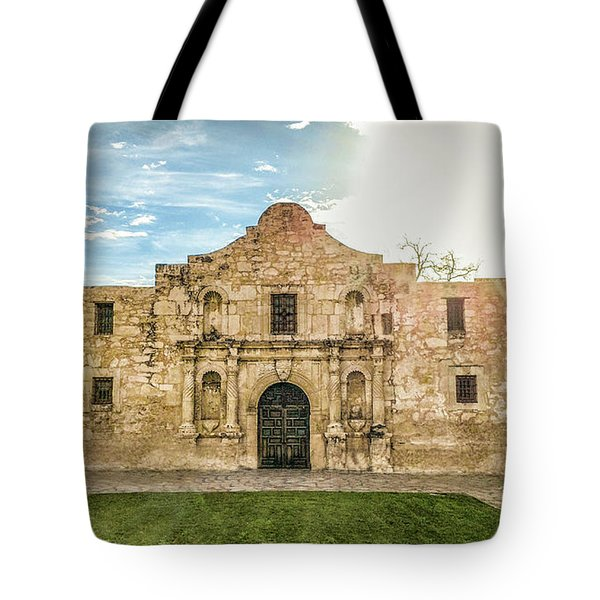 10862 The Alamo Tote Bag by Pamela Williams