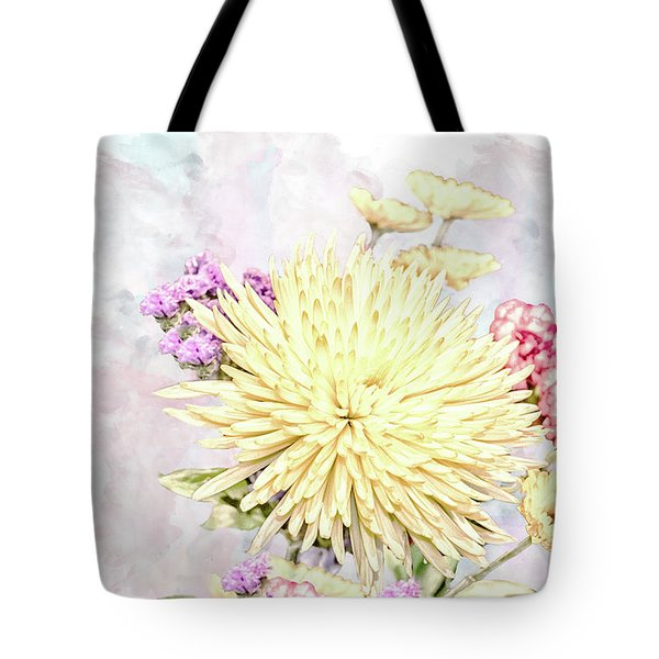 10865 Spring Bouquet Tote Bag