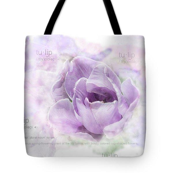 10947 Tulip Tote Bag
