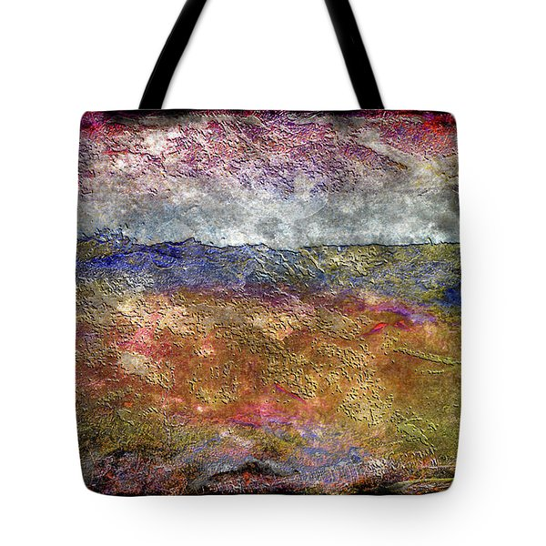 10c Abstract Expressionism Digital Painting Tote Bag