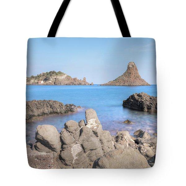 Aci Trezza - Sicily Tote Bag by Joana Kruse