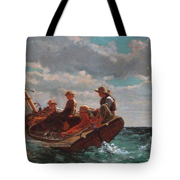 Breezing Up Tote Bag