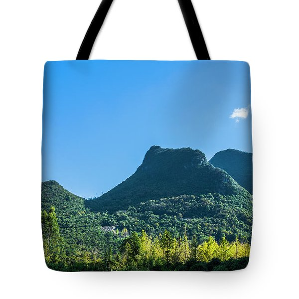 Countryside Scenery In Autumn Tote Bag