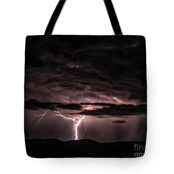 Lightning Tote Bag