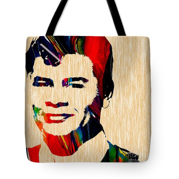Ritchie Valens Collection Tote Bag by Marvin Blaine