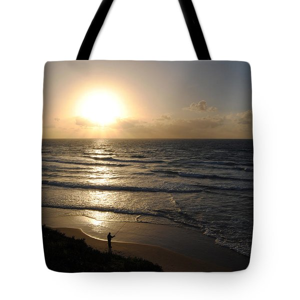 Sunset At Jaffa Beach 5 Tote Bag