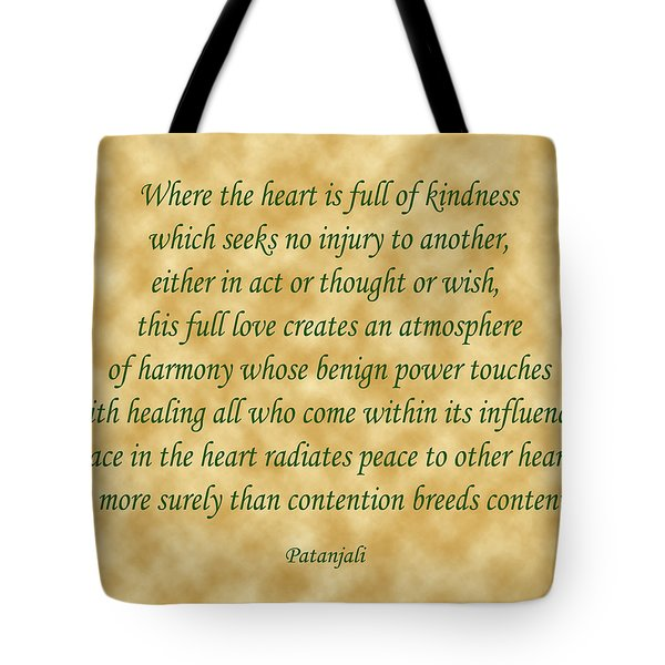 11- Where The Heart Is Full Tote Bag by Joseph Keane