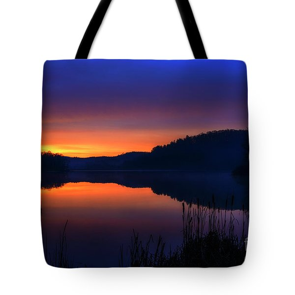 Tote Bag featuring the photograph Winter Dawn by Thomas R Fletcher