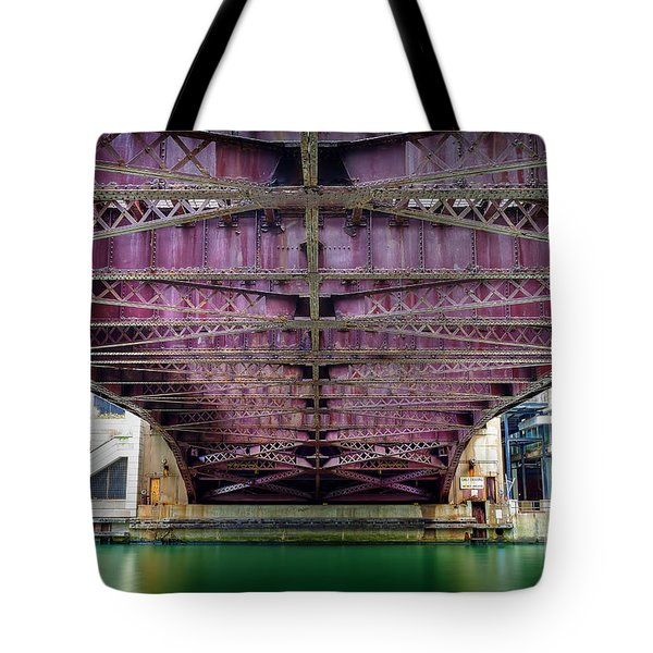 1136 Under The Dearborn Street Bridge Tote Bag
