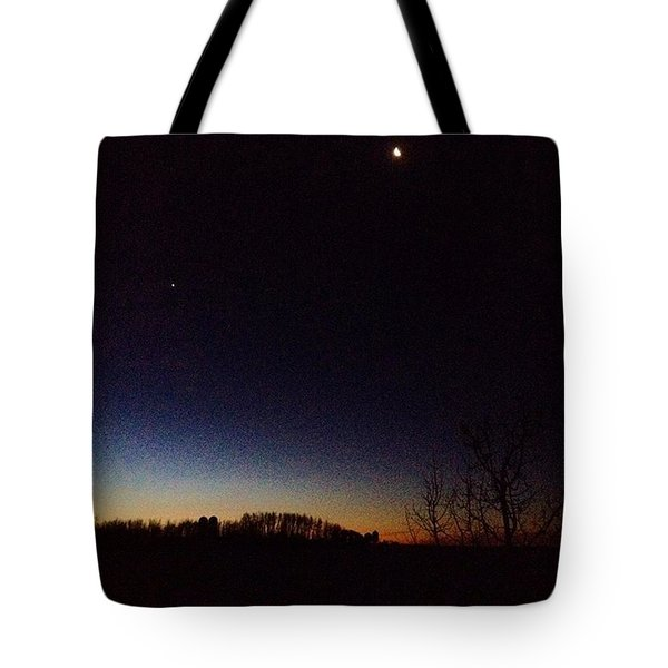 The End To New Day Tote Bag