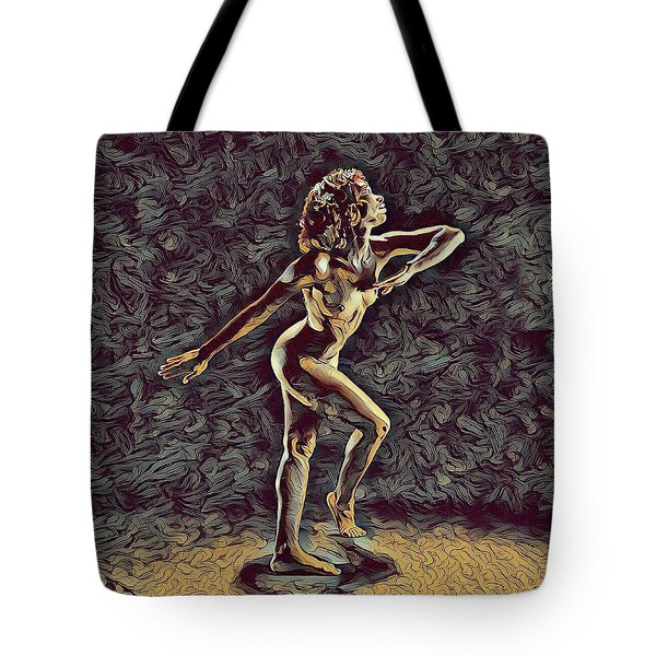 1192s-zac Nudes In The Style Of Antonio Bravo  Tote Bag