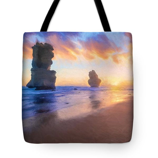 12 Apostles With Marshmallow Skies    Og Tote Bag