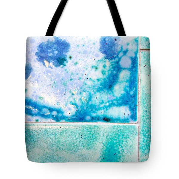 Blue Tiles Tote Bag