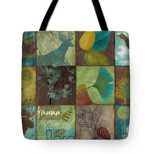 12 Days In The Woods Tote Bag