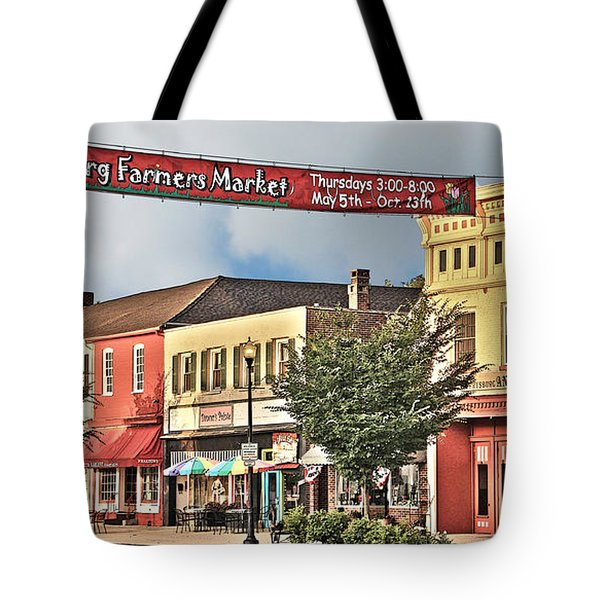 Downtown Perrysburg Tote Bag