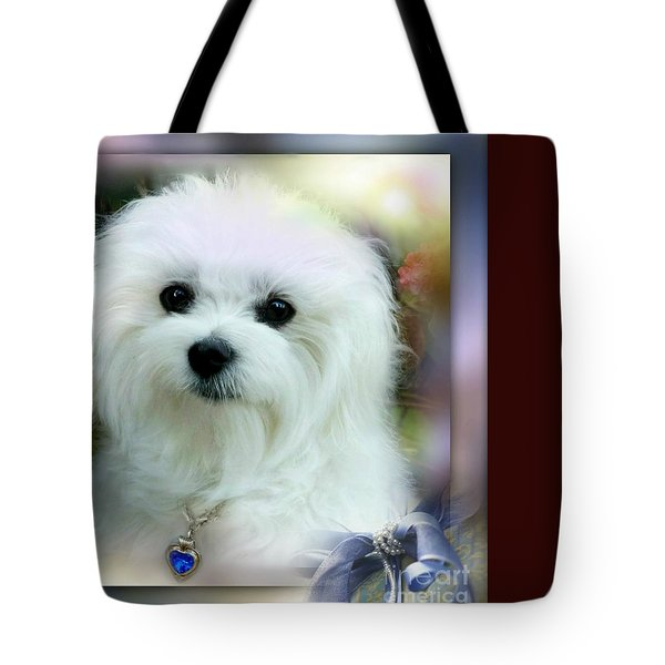 Hermes The Maltese Tote Bag by Morag Bates