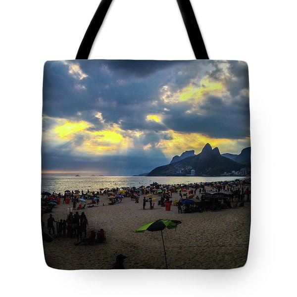 Ipanema Beach Tote Bag