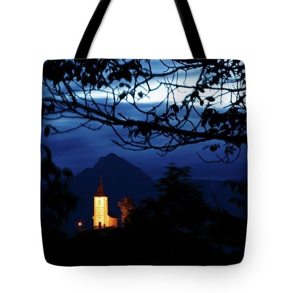 Jamnik Church Of Saints Primus And Felician Tote Bag
