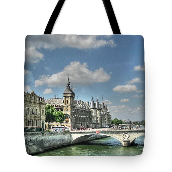 Paris Tote Bag by Yury Bashkin