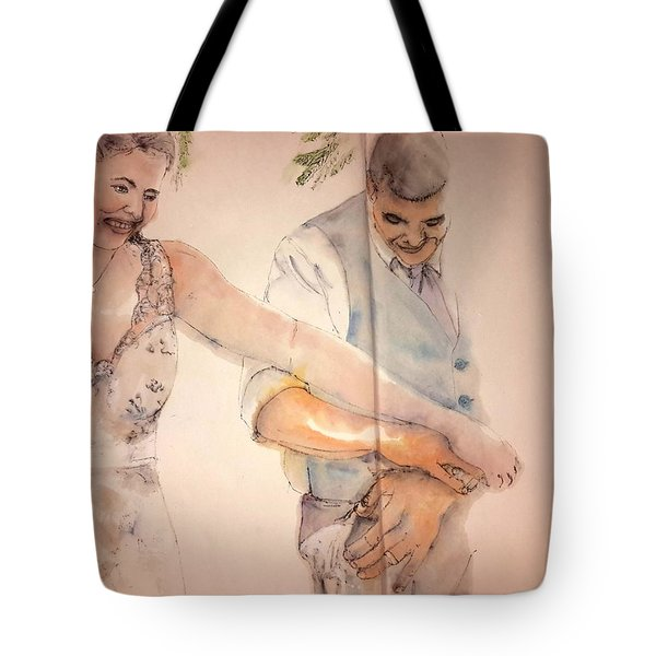 The Wedding Album Tote Bag